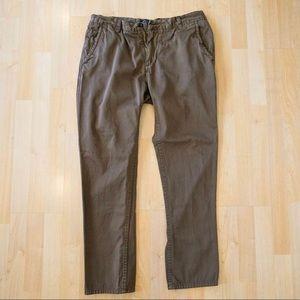 MatchStick Men's Argus Brown Chinos Size 36, XXL